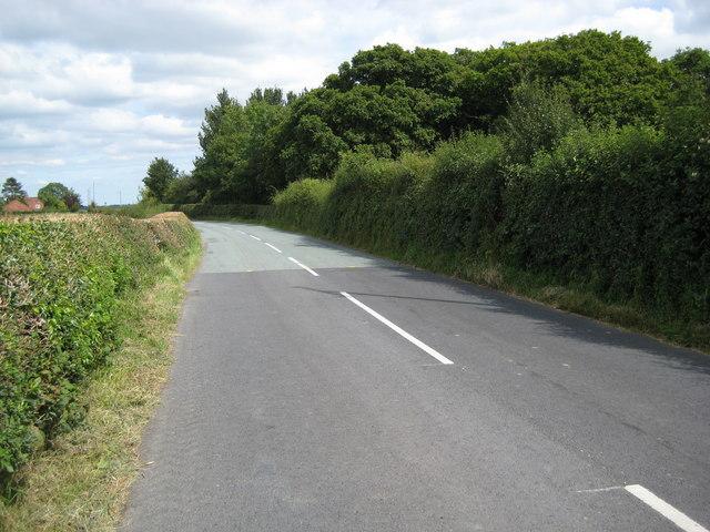 Road adjacent to Wrentnall Villa
