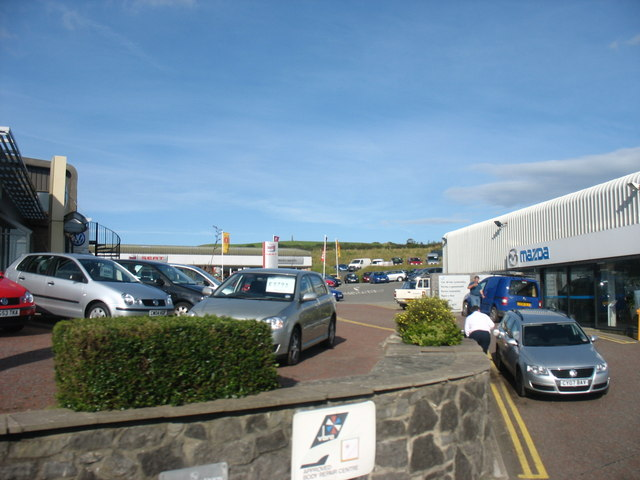 Pentraeth Automotives Car Sales Centre, Pentraeth Road