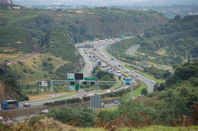 View from Castlandhill