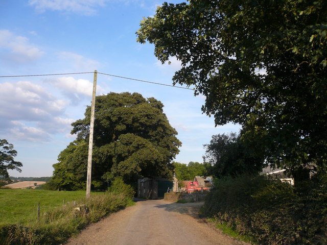 Entering Stainsby