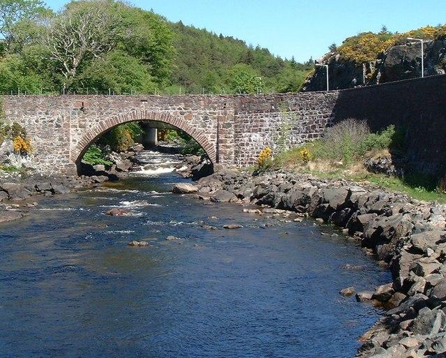 Bridge over River Inver, Lochinver