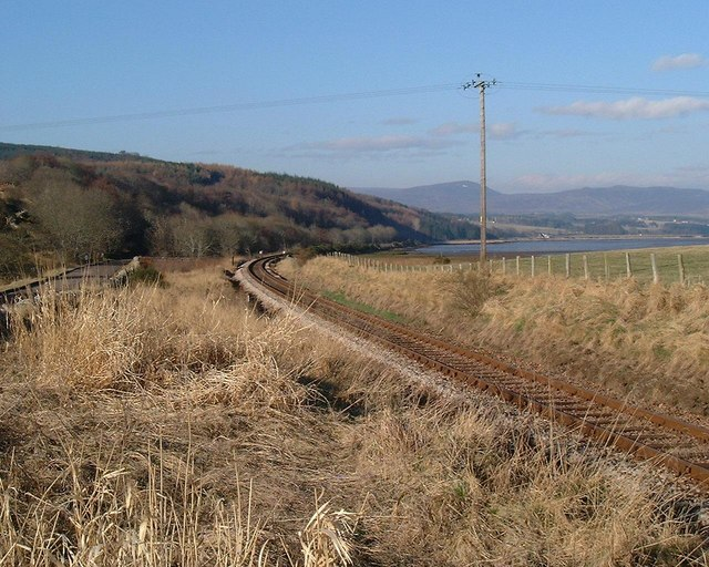 Tain to Bonar Bridge Railway Line
