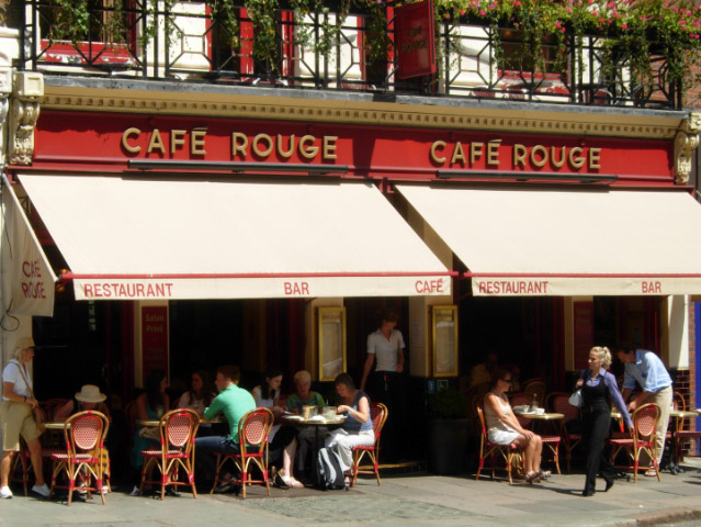 Cafe Rouge, Hampstead