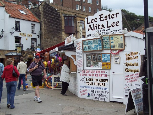 Get your fortune told at Whitby