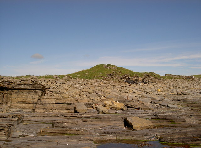 Remains of Broch o Burristae