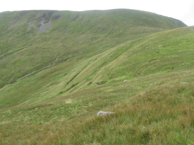 Below Creag an Leinibh