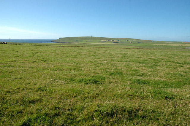 The grassy meadows of Marwick