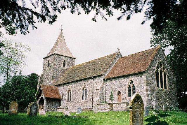 Pentridge: parish church of St. Rumbold