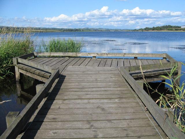 Angling Platform, Kilbirnie Loch.
