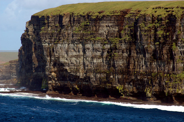 The cliffs of Veniba from Point of Whitaloo