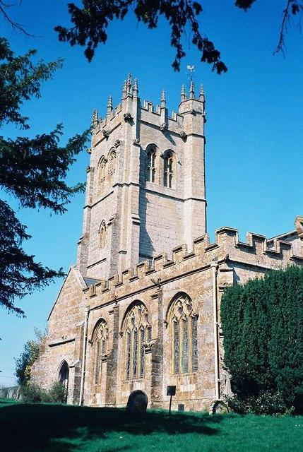 Piddletrenthide: parish church of All Saints