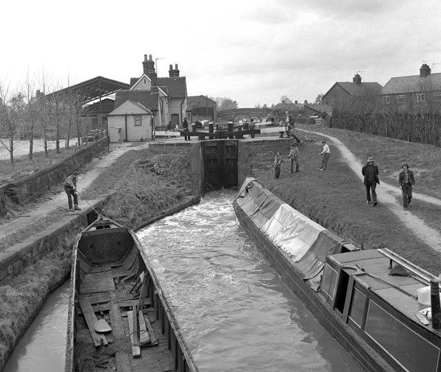 Wardle Lock, Middlewich (1)