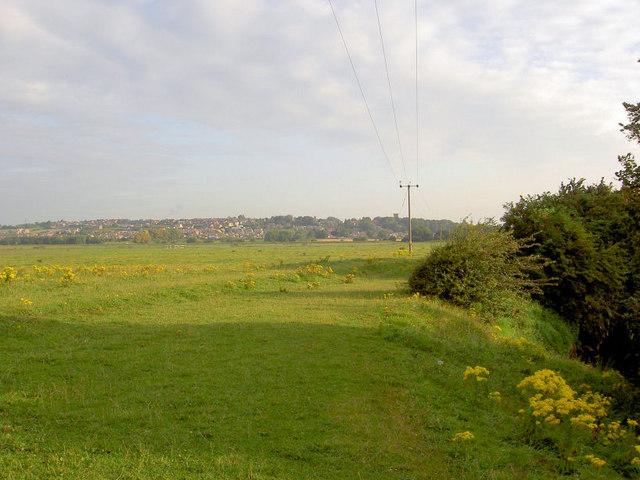 Looking towards Darfield across the Ings.