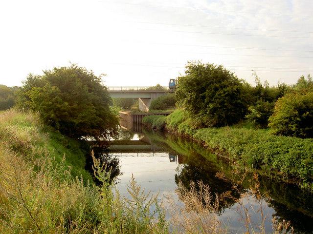 Dearne Valley Parkway bridge over river Dearne.