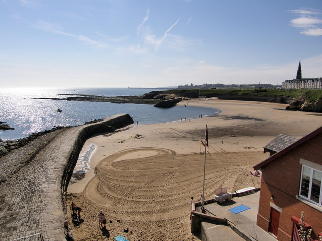 Cullercoats Bay from the North