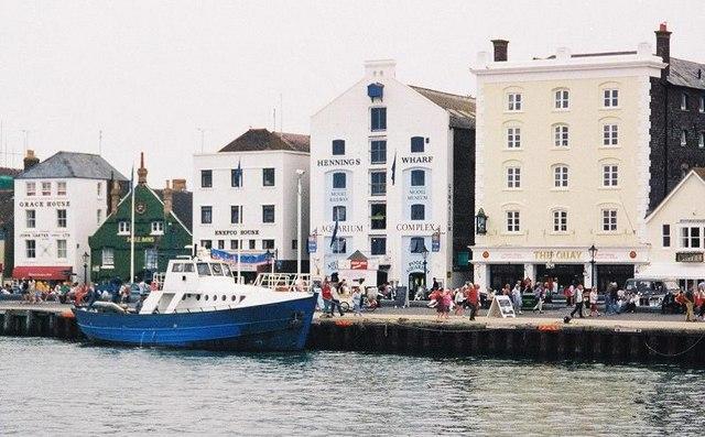 Poole: the quay