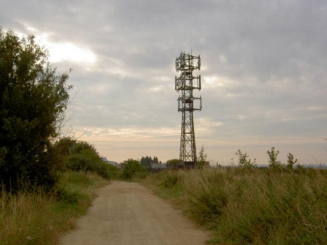 Telcoms mast.