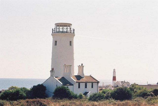 Portland: old and new lighthouses