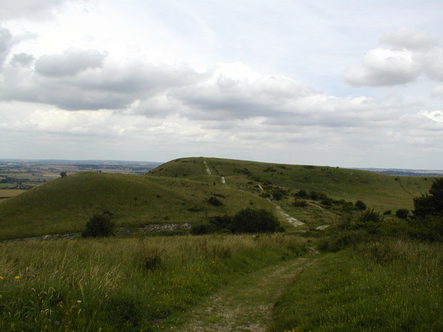 Ivinghoe Beacon from Steps Hill