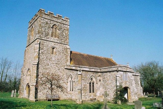 Pulham: parish church of St. Thomas à Becket