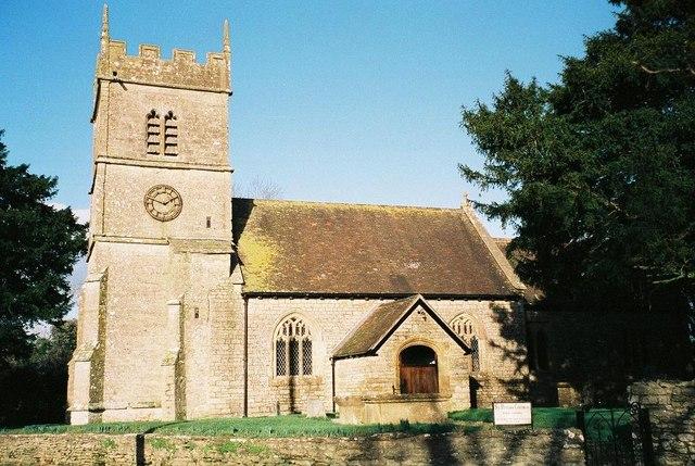 Purse Caundle: parish church of St. Peter