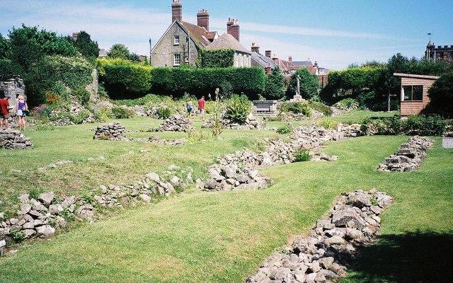 Shaftesbury: abbey ruins