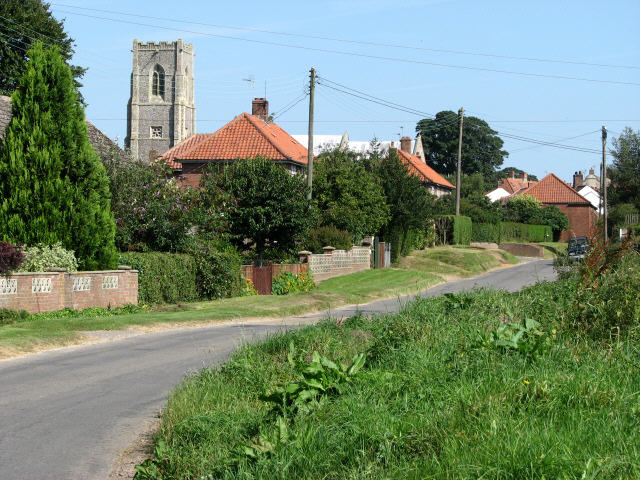 Approach from Sloley Road