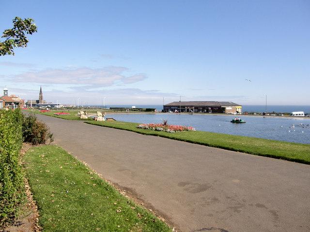 Boating Lake - Tynemouth Park