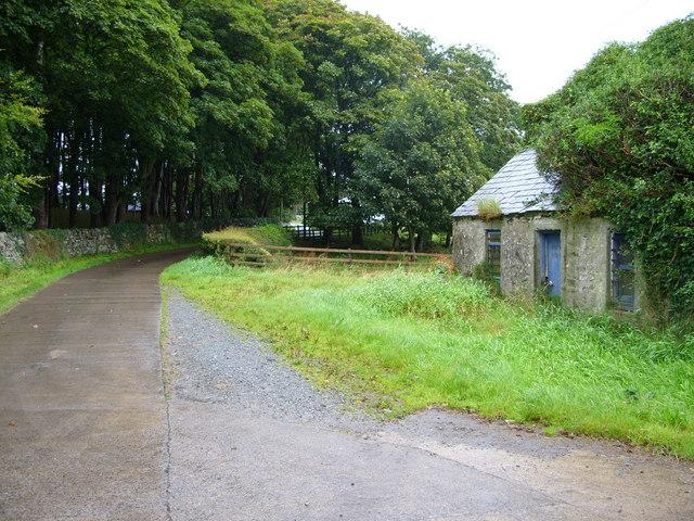 High Glentriplock  Farm Road