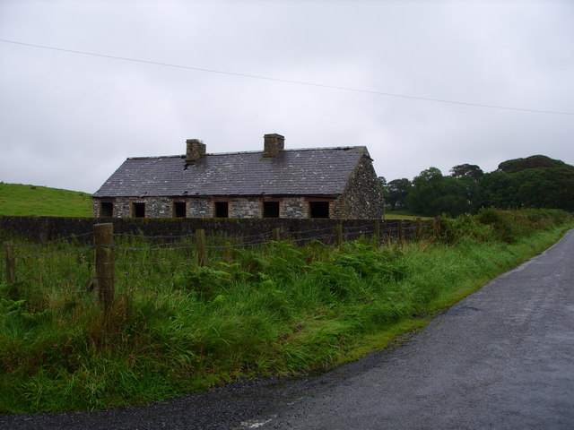 Old Cottage Beside the Road to Low Carseduchan