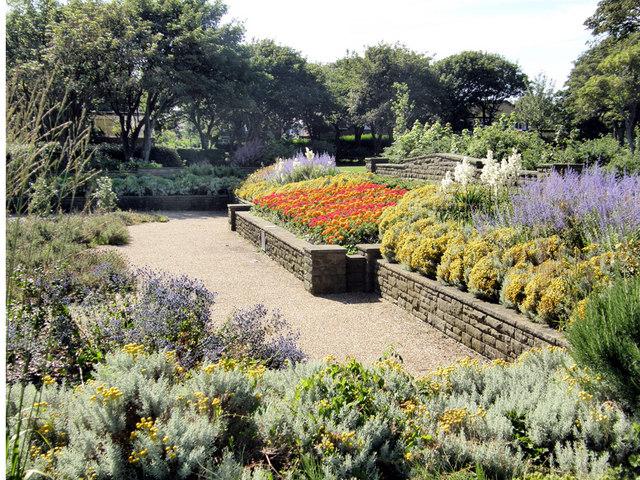 Flower Gardens - Tynemouth Park