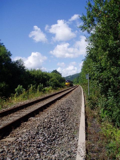Cambrian Railway near Machynlleth