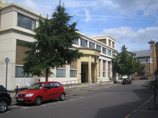 Southwark: Blackfriars Crown Court, Pocock Street, SE1