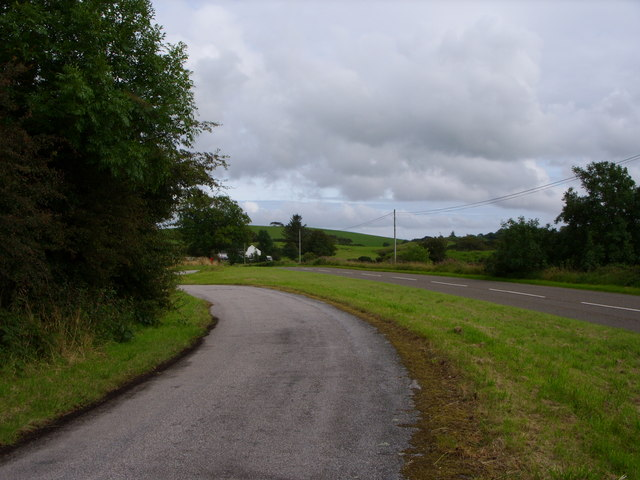 The A755 At Standingstone