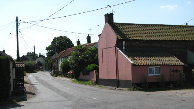 Ingham Corner from Water Lane