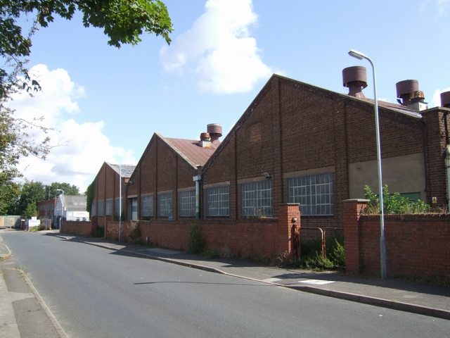 Factory units in Macrome Road