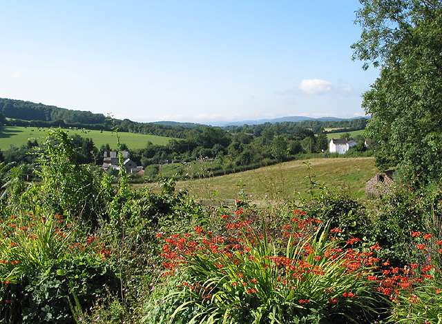 View from the lower slopes of May Hill