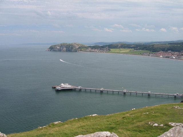 Llandudno Pier from Pen-trwyn