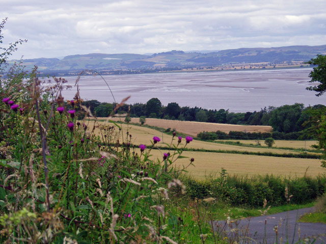 Across the Tay to the Carse of Gowrie