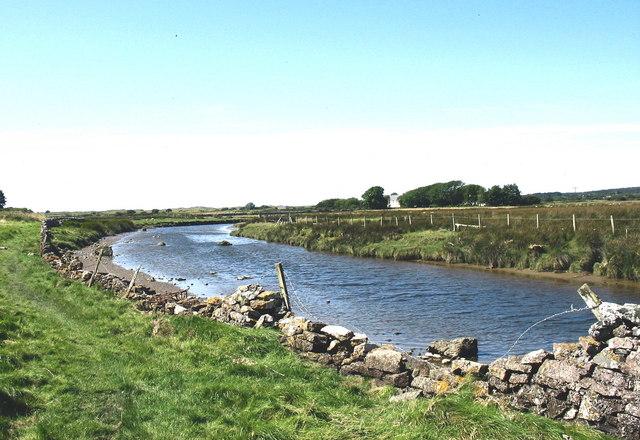 Bend in Afon Braint