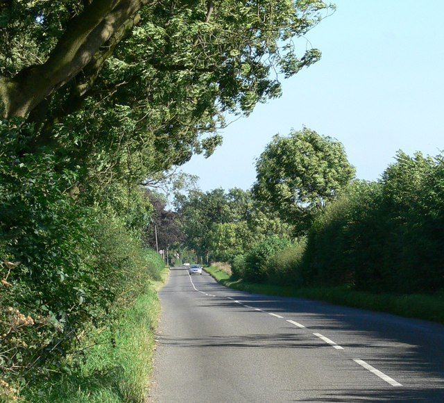 Burrough Road towards Somerby, Leicestershire