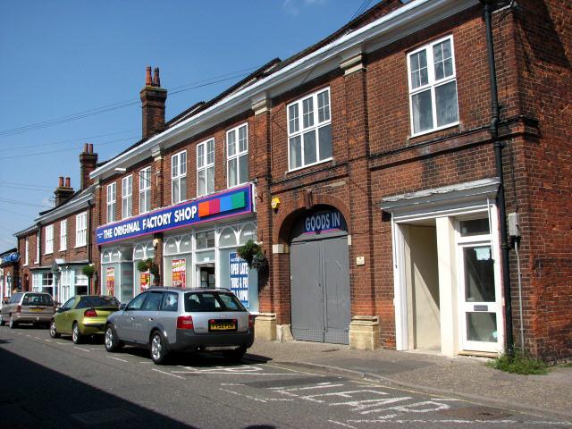 Shops in Stalham High Street
