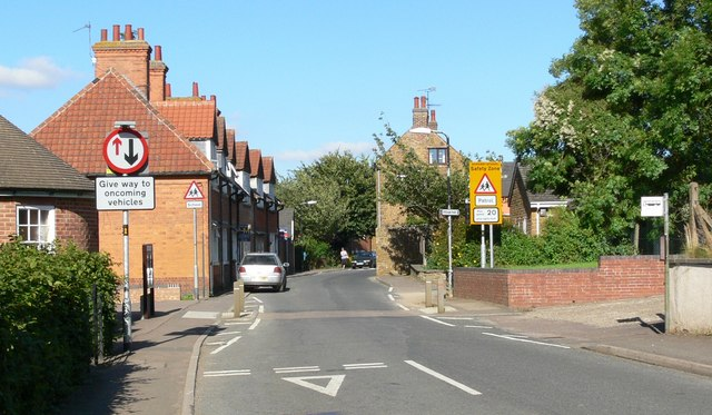 The High Street in Somerby, Leicestershire