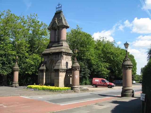 Sefton Park Gates, Ullet Road