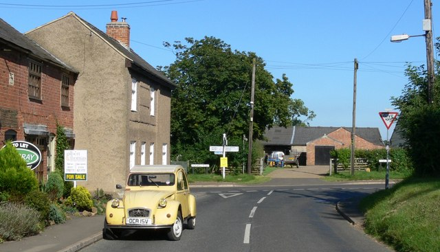 Pickwell Road Junction, Somerby. Leicestershire