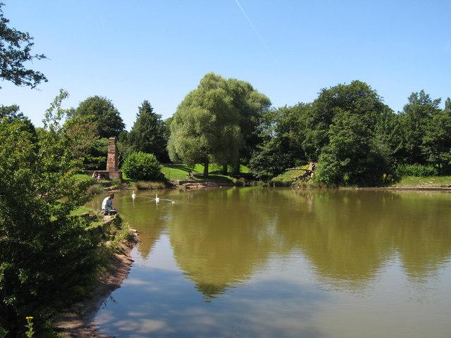 Princes Park Lake
