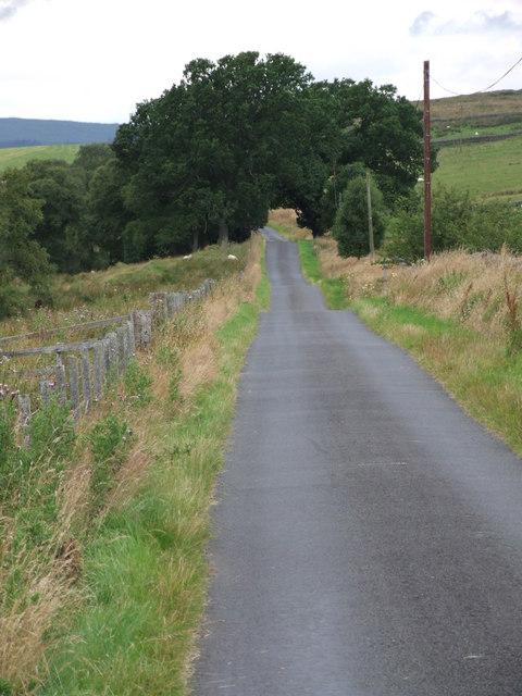 Road at Gatehouse