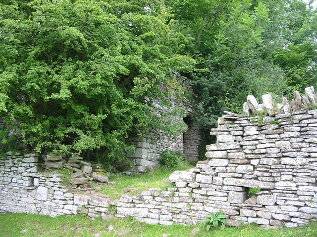 Ruins at Twyn.