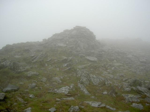The summit of St Sunday Crag