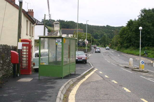 A361 through Knowle on the way to Braunton
